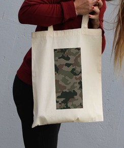 Tote Bag Camo Rectangle