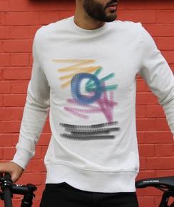 Sweat-shirt à col rond Naive par Aecho