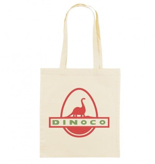 Tote Bag Dinoco Toy Story de couleur Crème