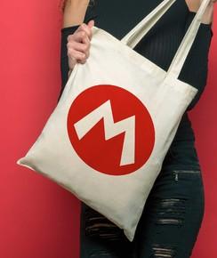 Tote Bag Logo Mario
