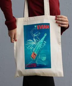 Tote Bag 100% coton bio Evian