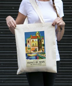 Tote Bag France By Train