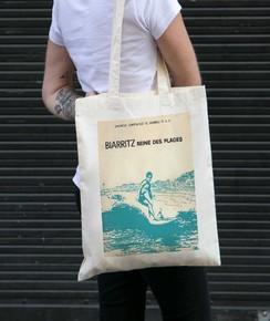 Tote Bag Biarritz Reine Des Plages