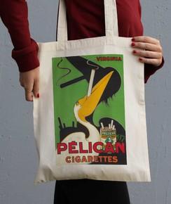 Tote Bag Pelican Cigarettes
