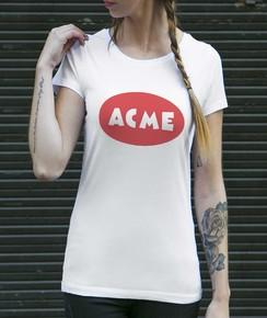 T-shirt à col rond Femme ACME