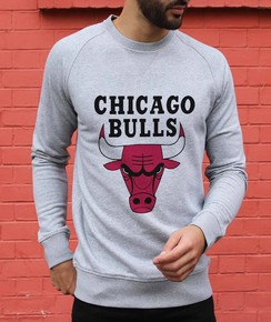 Sweat à col rond Chicago Bulls