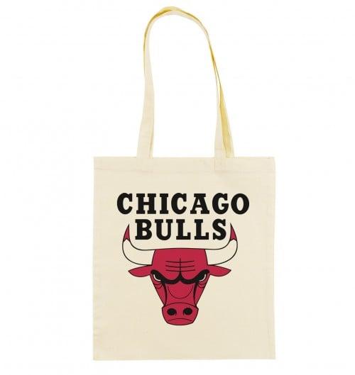 Tote Bag Chicago Bulls de couleur Crème