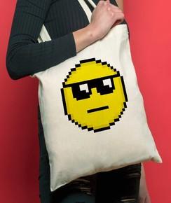 Tote Bag Smiley Soleil