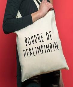 Tote Bag Poudre De Perlimpinpin