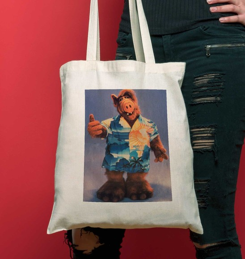 Tote Bag ALF HawaÏ de couleur Crème