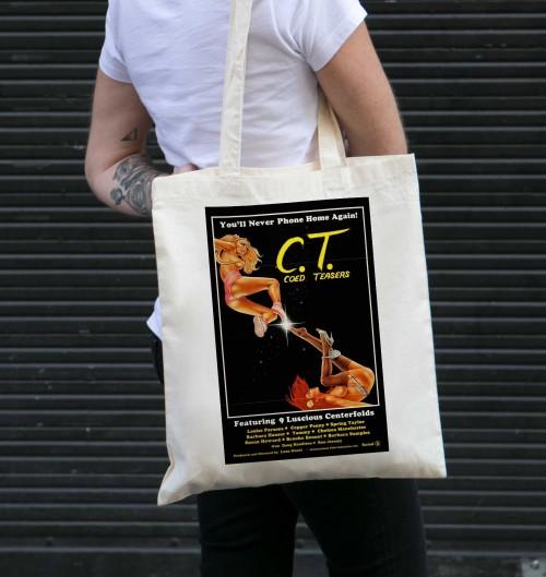 Tote Bag Coed Teasers de couleur Crème