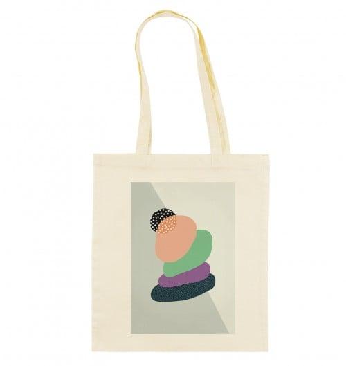 Tote Bag Zen de couleur Crème