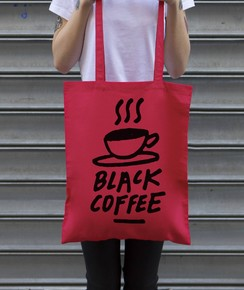 Tote Bag Black Coffee par Aecho