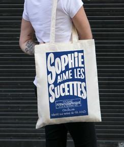 Tote Bag Sophie Aime Les Sucettes