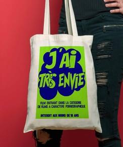 Tote Bag J'ai Très Envie