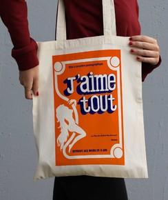 Tote Bag J'aime Tout