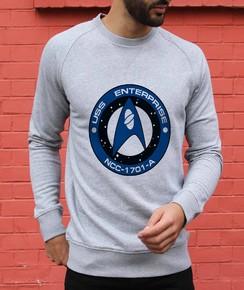 Sweat à col rond Logo Scientifiques Starfleet