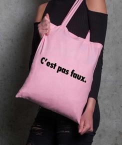 Tote Bag C'est Pas Faux