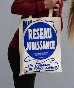 Tote Bag Réseau Jouissance