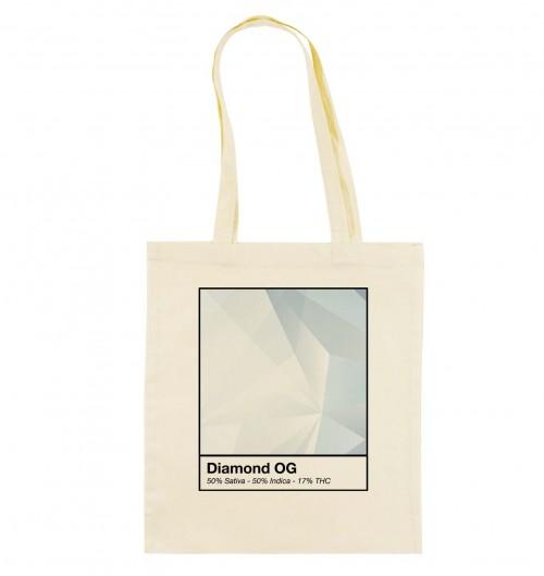 Tote Bag Diamond OG de couleur Crème