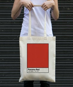 Tote Bag Panama Red