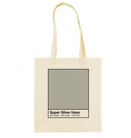 Tote Bag Super Silver Haze de couleur Crème