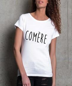 T-shirt à col rond Femme Comère