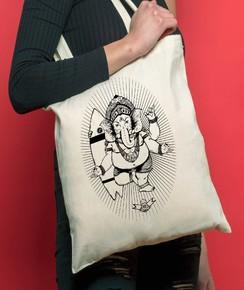 Tote Bag Ganesh de la marque Coontak