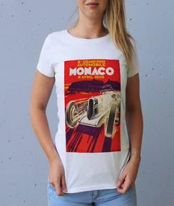 T-shirt à col rond Femme Monaco GP 1930