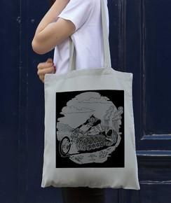 Tote Bag Dragster de la marque Coontak
