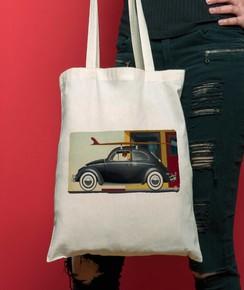 Tote Bag Nine AM par Coontak