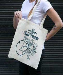 Tote Bag Hell Rider de la marque Coontak