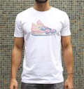 T-shirt à col rond Sneakers par Catchy
