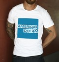 T-shirt à col rond American Dream
