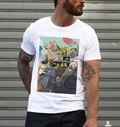 T-shirt à col rond Mad Max Simpsonized par ADN