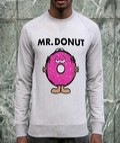 Sweat à col rond Mister Donut