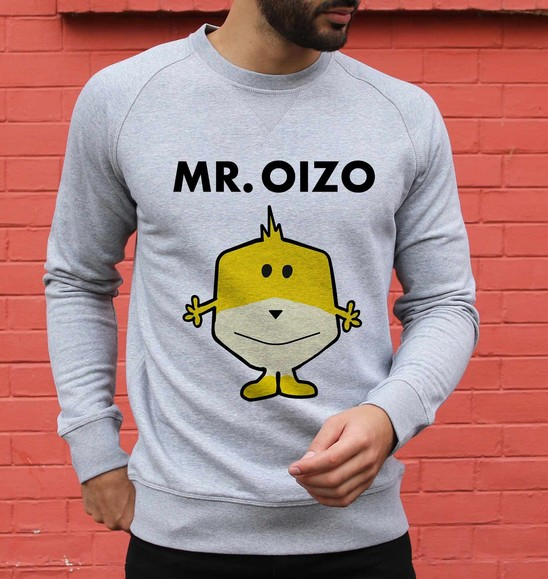 Sweat 85% coton bio / 15% polyester Mr. Oizo