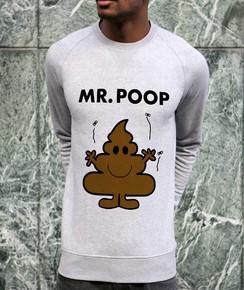 Sweat à col rond Mister Poop
