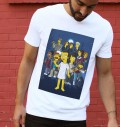 T-shirt à col rond Stranger Things par ADN