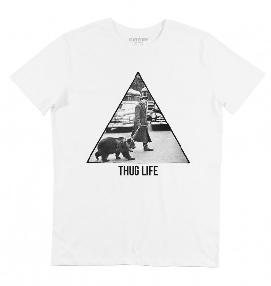 T-shirt Ours Thug Life - Tee-shirt Ours en