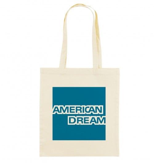 Tote Bag American Dream de couleur Crème