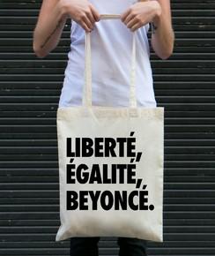 Tote Bag Liberté Egalité Beyoncé