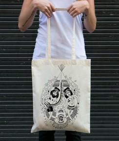 Tote Bag 100% coton Bali