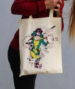 Tote Bag Supawoman par Coontak