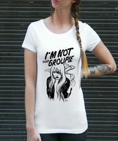 T-shirt à col rond Groupie de la marque Coontak