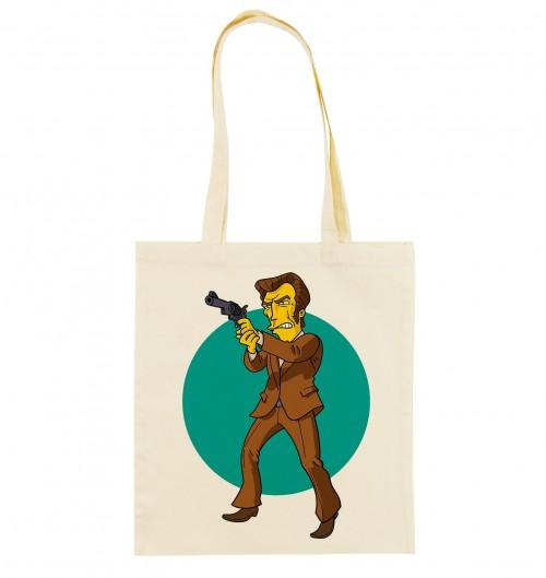 Tote Bag Inspecteur Harry de couleur Crème