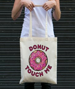 Tote Bag Donut Touch Me