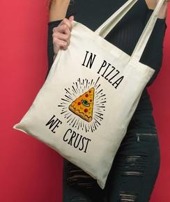 Tote Bag In Pizza We Crust