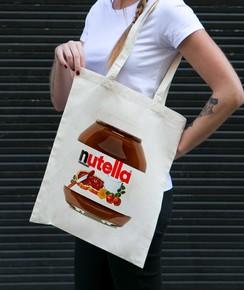 Tote Bag 100% coton Nutella