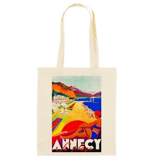 Tote Bag Annecy de couleur Crème